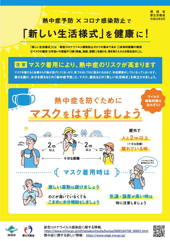 熱中症対策のリーフレット 1 労務管理 熱中症対策